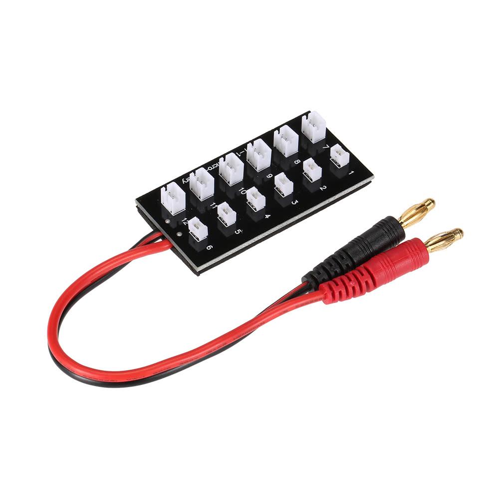lipo batterie parallel ladeger t board mit banana stecker. Black Bedroom Furniture Sets. Home Design Ideas