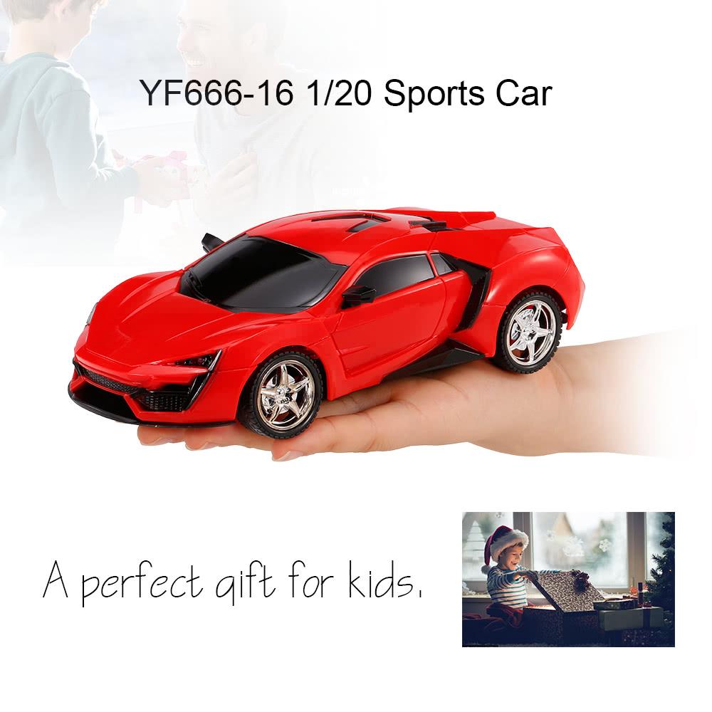 Yufei Toys Yf666 16 1 20 Sports Car Remote Control Car With Light Rc