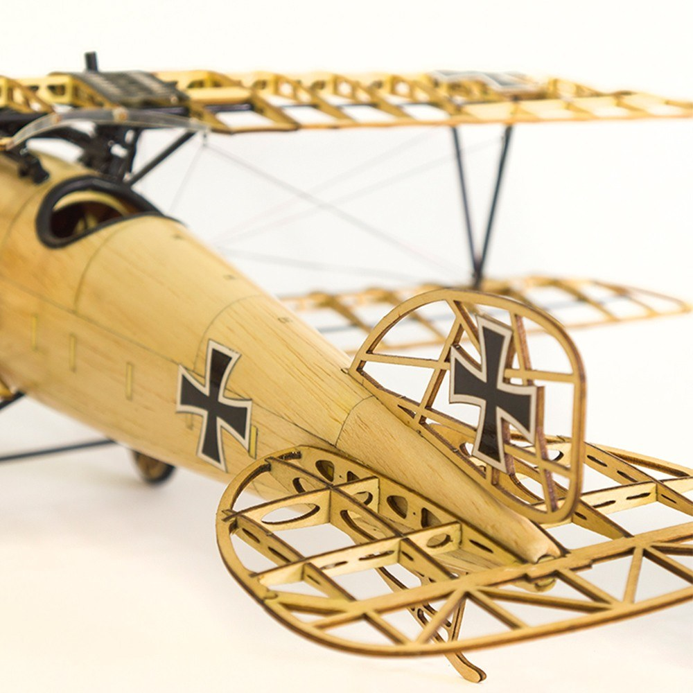 Dancing Wings Hobby VS02 1/15 Wooden Static Airplane Model Display Replica