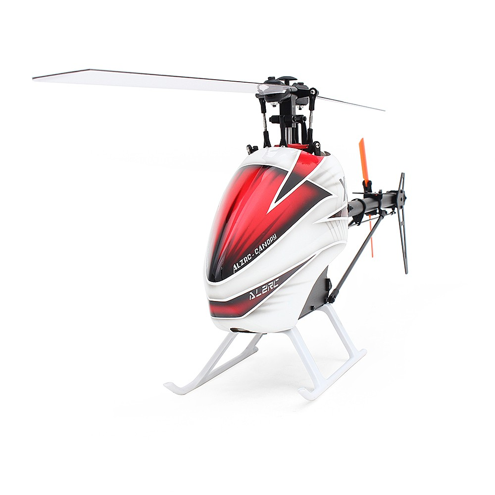 Best ALZRC X360 FAST FBL 6CH 3D Flying RC Helicopter Kit Version (No Sale  Online Shopping red | Cafago com