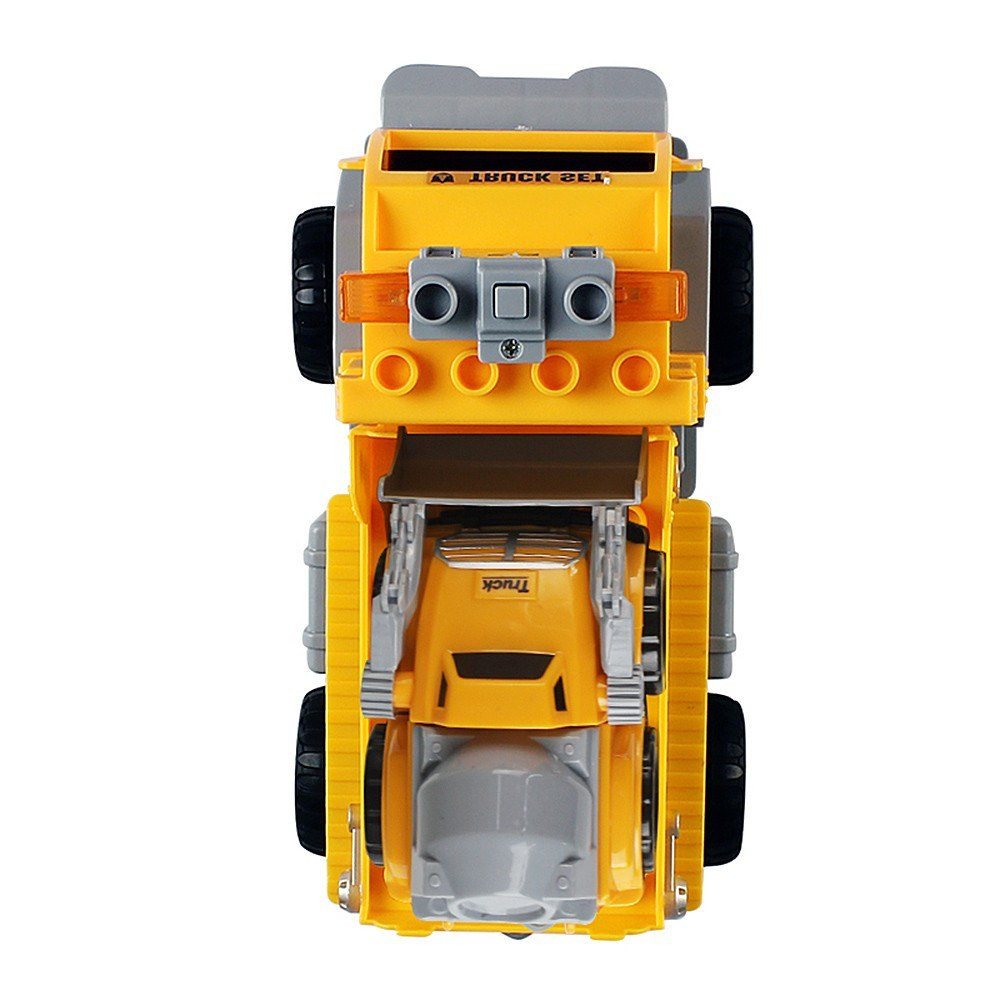 18Pcs DIY Building Blocks Car 1/18 Infrared Remote Control RC Car