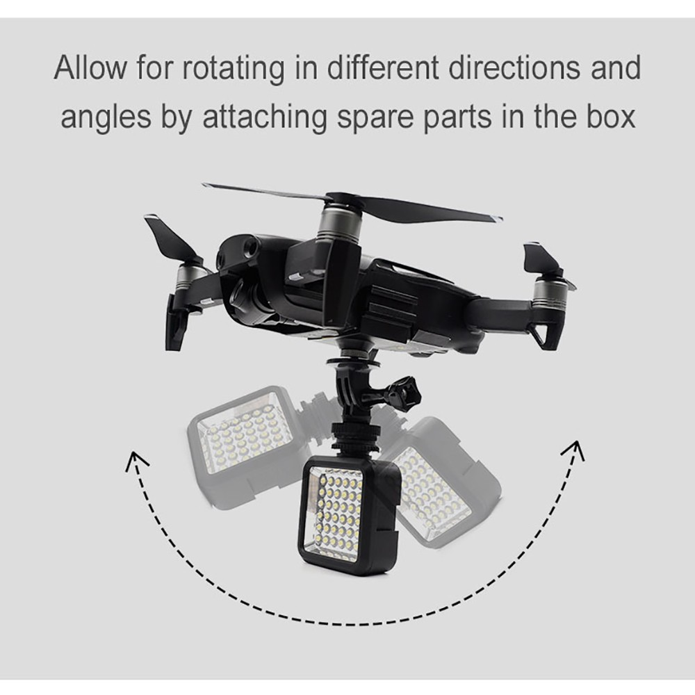Startrc Led Light Camera Bracket Holder Mount For Dji Mavic Air Rc Dual Hook Spark Adapter With Neck Strap Drone Quadcopter Sale Us955 Tomtop