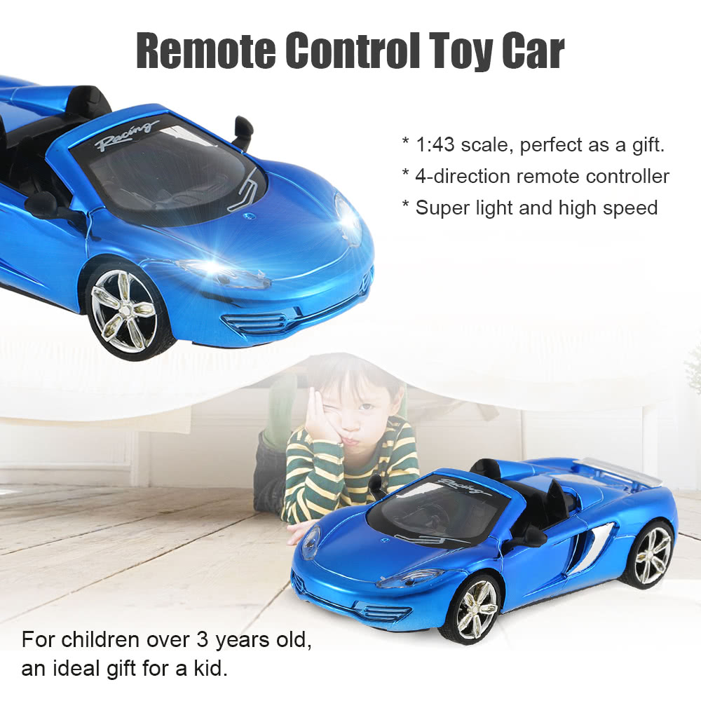 GREAT WALL TOYS 2228 2 4G 2CH 1/43 Remote Control Mini Racing Car  Collection Toys Vehicle for Kids