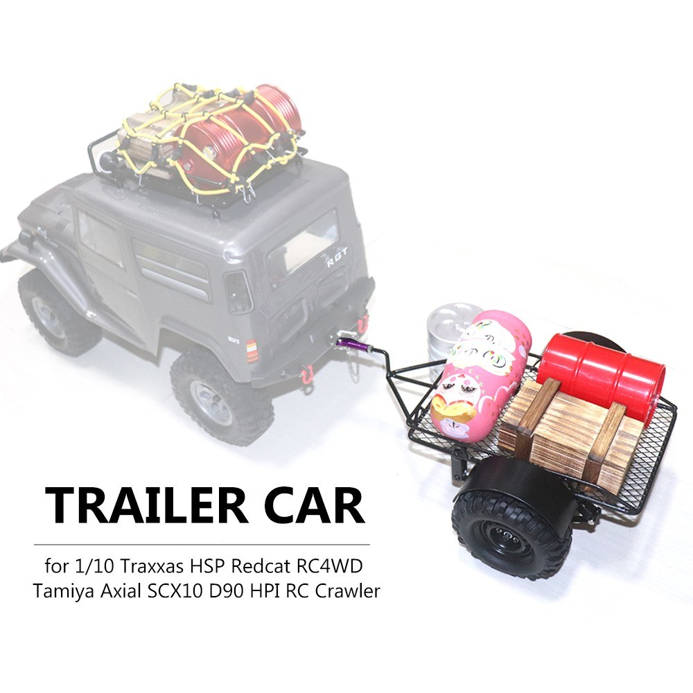Trailer Car Hopper Trail