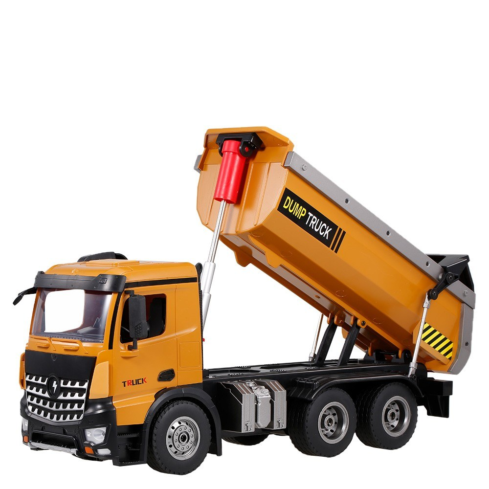 cafago.com - 62% OFF Wltoys 14600 2.4Ghz 1/14 Scale RC Dump Truck RC Construction Vehicle Toy,free shipping+$95.92
