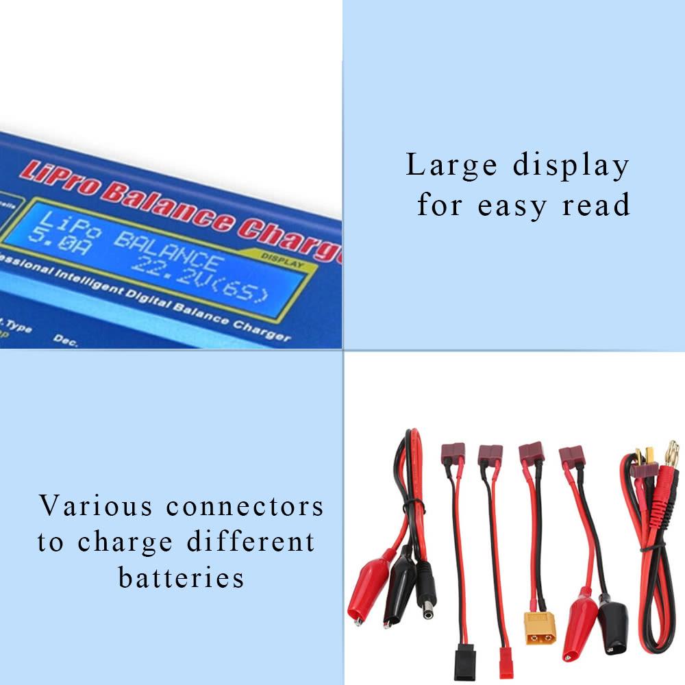 Original Skyrc Imax B6 Multi Functional Lipro Balance Charger 80w Digital Rc Lipo Nimh Battery And Discharger For Lilon Life Nicd Pb Sale Us2499 Tomtop