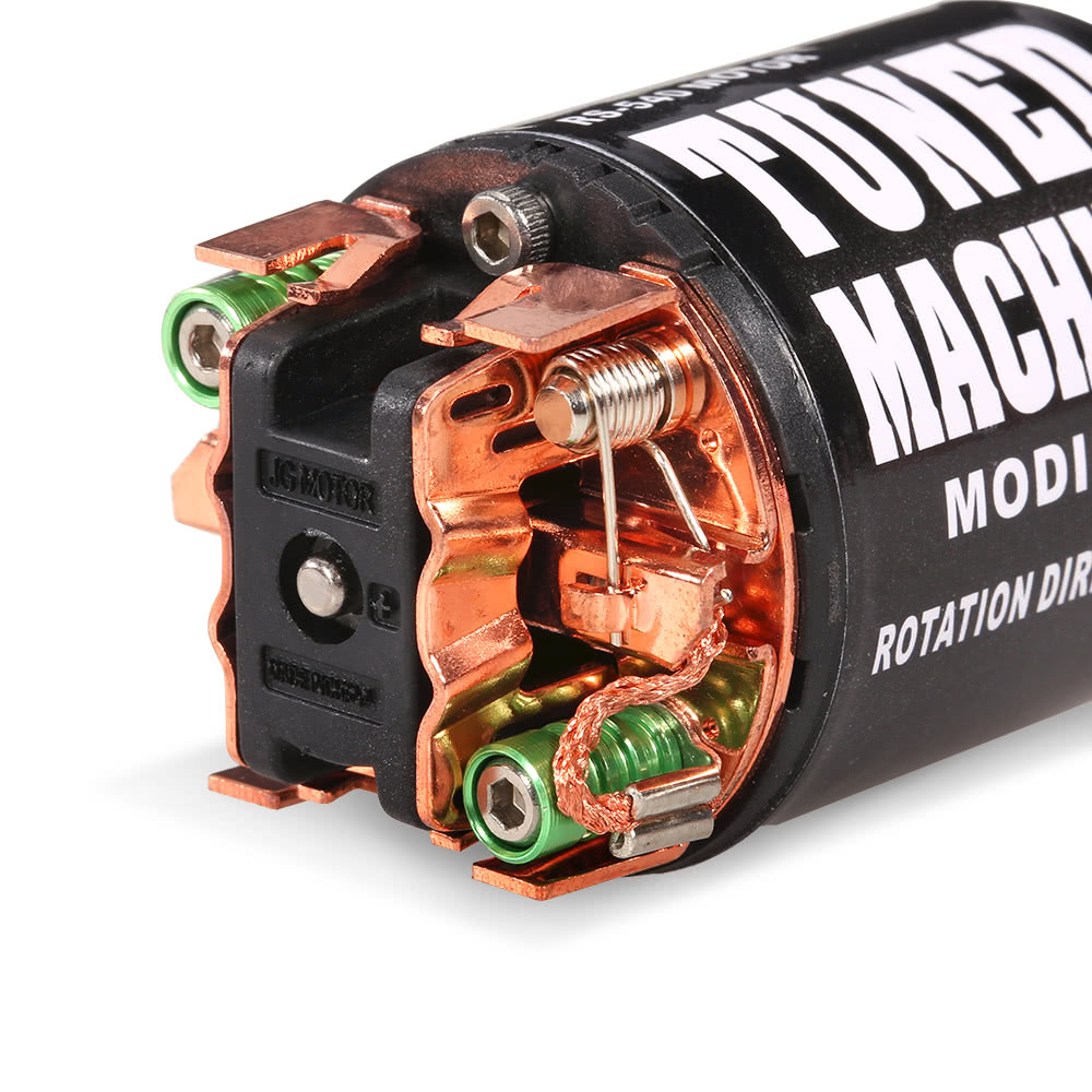 Austar 540 55t brushed motor for 1 10 axial scx10 rc4wd for Stepper motor rc car