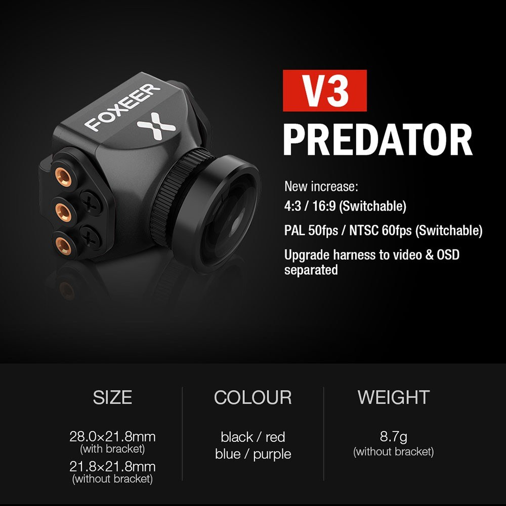 Foxeer Predator V3 Mini FPV Camera