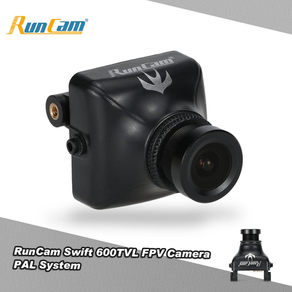 Original RunCam Swift 600TVL FPV PAL Camera 2.8mm Lens & Base Holder IR Blocked QAV250 180 210 RC Quadcopter