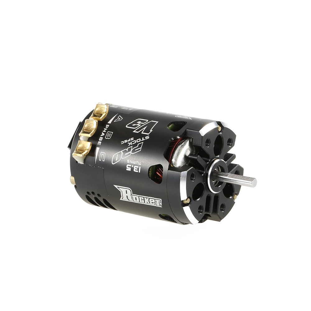 Surpass hobby rocket v3 540 13 5t sensored brushless spec for 10 5 t brushless motor