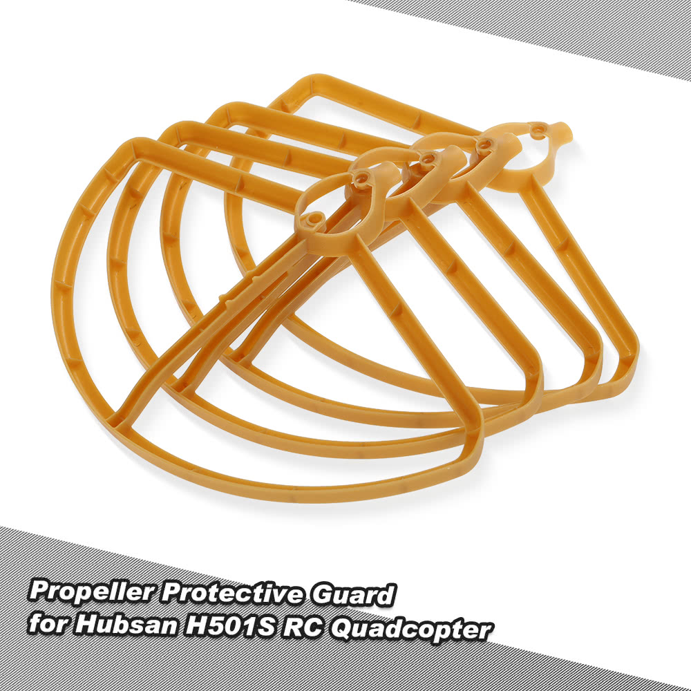 4pcs Propeller Protectors Protective Guard For Hubsan H501s H501c Rc Quadcopter Flamewheel F450 Wiring Diagram Mouse Over To Zoom In