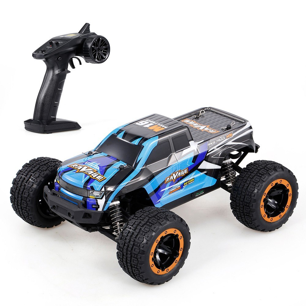 tomtop.com - [EU Warehouse] 44% OFF Linxtech 16889A 1/16 4WD RC Car 45km/h Brushless Motor, $67.99 (Inclusive of VAT)