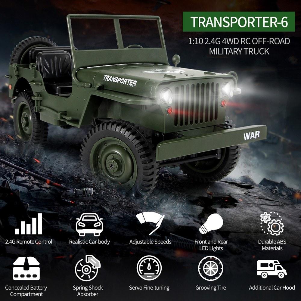 JJR/C Military Truck
