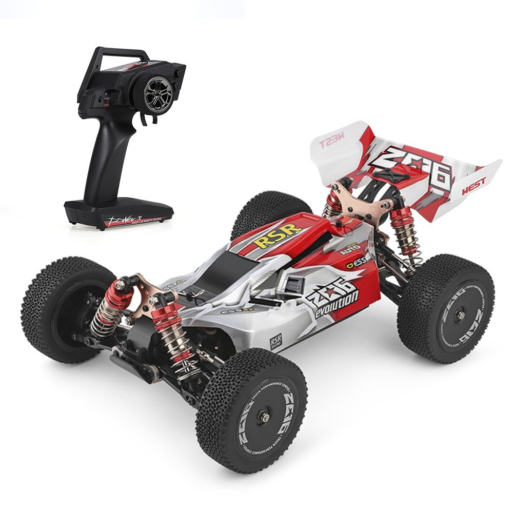 Cafago - 55% OFF Wltoys XKS 144001 1/14 2.4GHz RC Buggy 4WD Racing Off-Road Drift RC Car 60km/h High Speed Car RTR,free shipping+$80.30