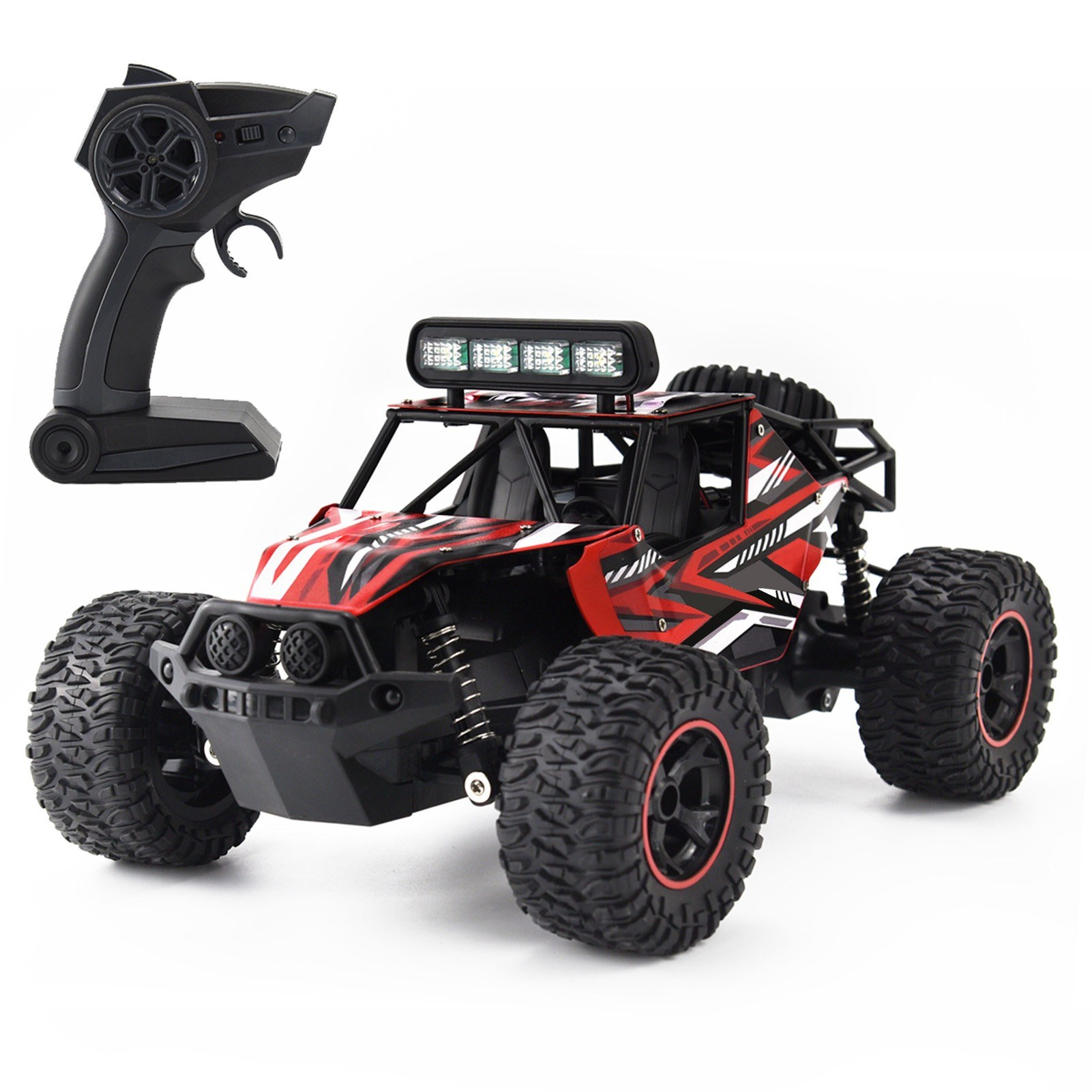 Tomtop - 67% OFF 2.4GHz Off-Road Car 1/16 Racing Car Remote Control, $37.99 (Inclusive of VAT)