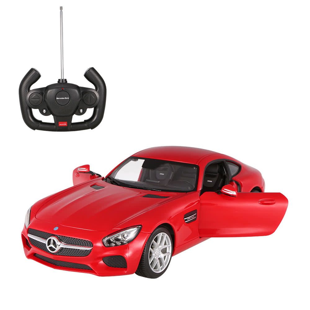 Original rastar 74000 27mhz 1 14 mercedes benz amg gt rc for Remote control mercedes benz