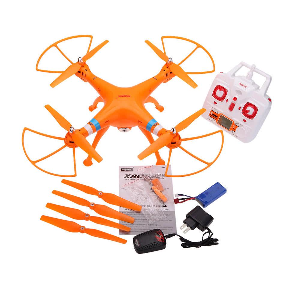 Beste SYMA X8C 2.4G 4CH 6-Achsen Gyro R / C orange us ...