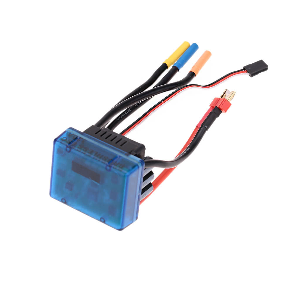 3670 1900kv 4p Sensorless Brushless Motor With 120a Esc Wiring Diagram Escelectric Speed Controllerfor 1 8 10 Rc Auto Car Truck For Sale Us6218 Tomtop