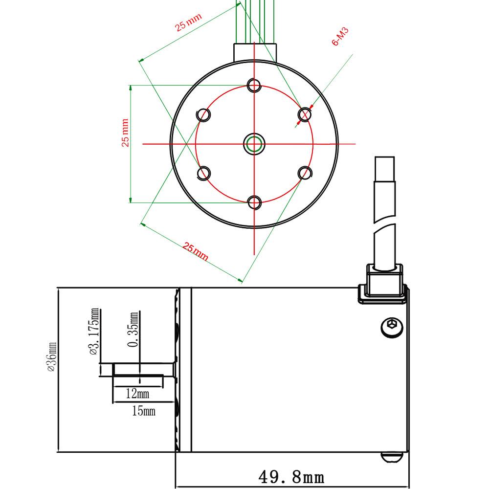 3650 3100KV/4P Sensorless Brushless Motor with 60A Brushless ESC(Electric  Speed Controller)for 1/10 RC Car Truck