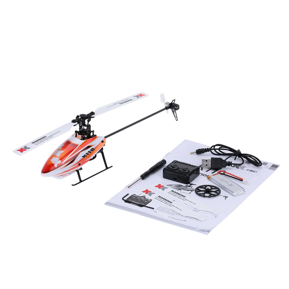 Xk Blast K110 B 6ch 3d 6g System Brushless Motor Bnf Rc Helicopter Esc Wiring For Quadcopter Furthermore Parts Diagram