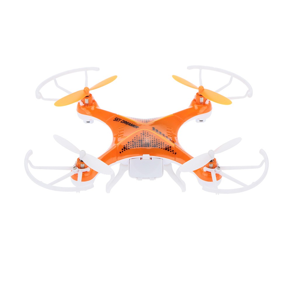 Original Attop YD-826 2 4GHz 4CH 6-Axis Gyro RTF RC Quadcopter UFO Drone  with Headless Mode and 0 3MP Camera