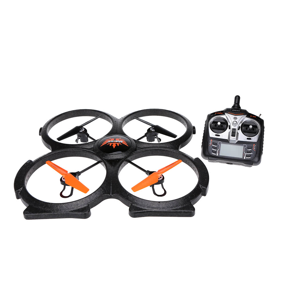 UDI U829A 2.4GHz 4-CH 6-Axis Gyro Super RC Quadcopter with ...