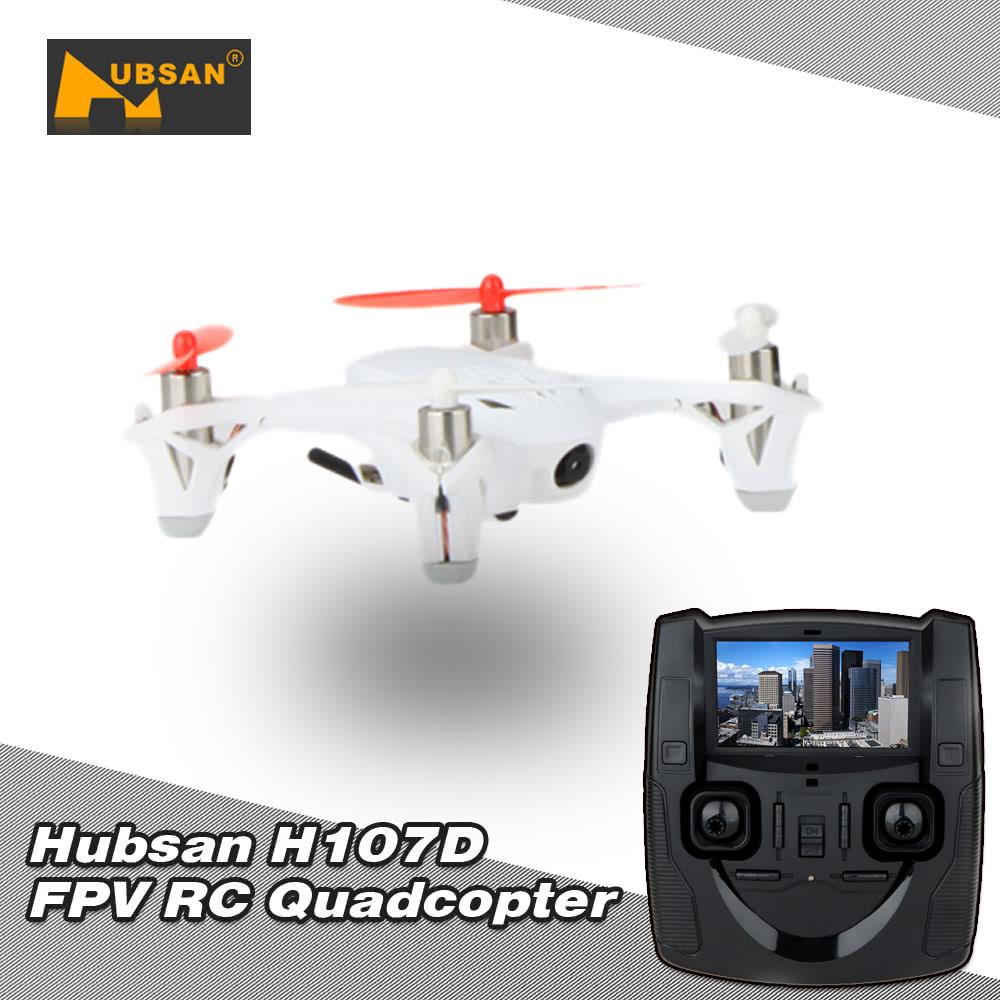 Original Hubsan X4 H107D RC Mini 5 8G FPV RTF 6-axis Gyro Quadcopter w/ LCD  Transmitter/0 3MP Camera Mode 1
