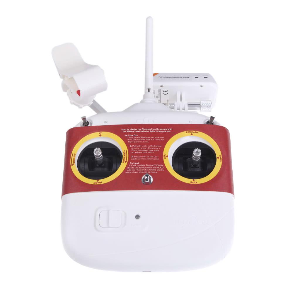 DJI Phantom 2 Vision + PLUS FPV Quadcopter GPS DRONE 3D Gimbal HD CAMERA 14  MP w/ Upgraded Transmitter