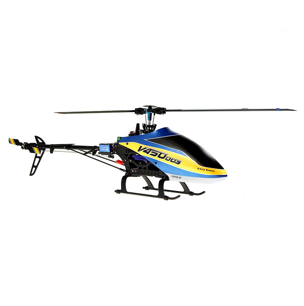 Elicottero 450 : Migliore walkera v450d03 6ch 450 rc fbl elicottero senza