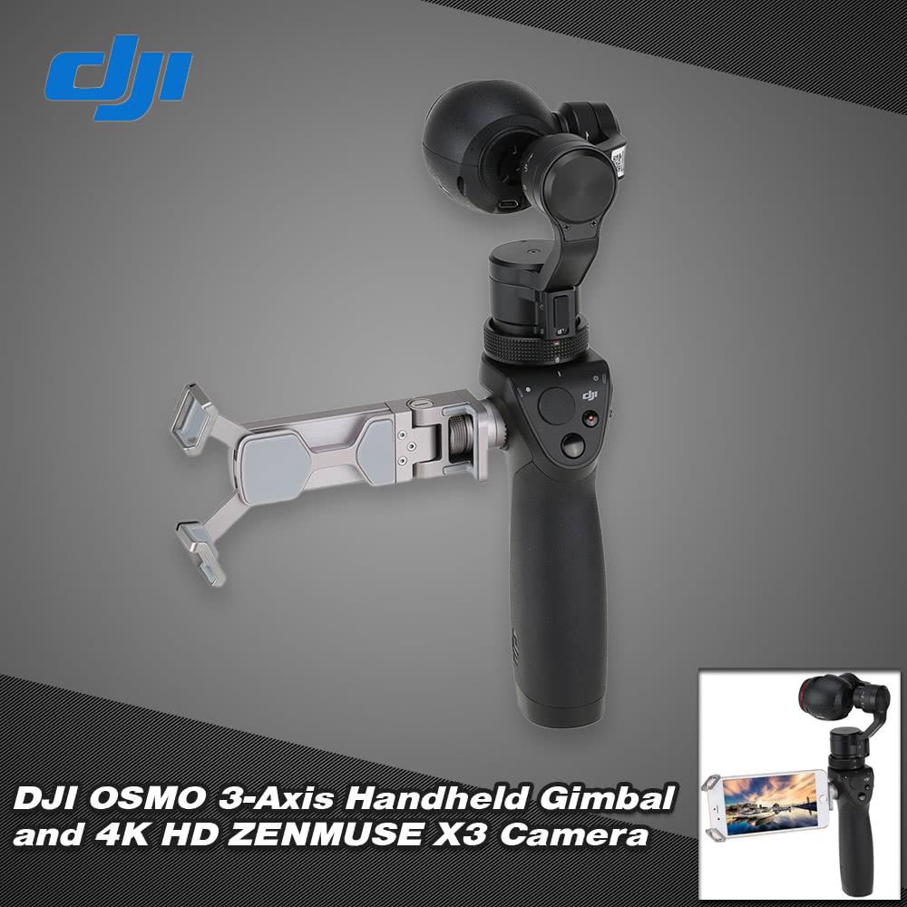 Original DJI OSMO Handheld 3-Axis Gimbal and 4K HD ZENMUSE X3 Camera Set