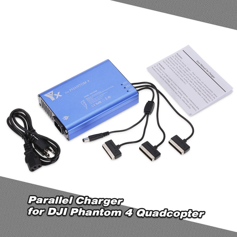 4 In 1 Parallel Power Hub Intelligent Battery Charger For Dji Series And Wiring Bank Phantom Pro Advanced Fpv Drone Quadcopter Sale Us3799 Us Tomtop