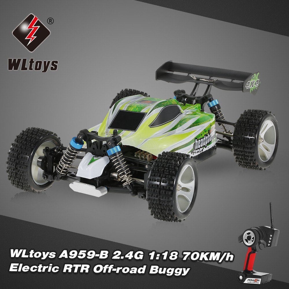 Wltoys A959 B 24g Rtr Off Road Buggy For Sale Us8785 3 Tomtop Manual Cableado Electrico Minimoto Chopper 49 1 Rc Car 24ghz Transmitter 74v 1500mah Lithium Battery Balance Charger And Plug Hex Wrench English