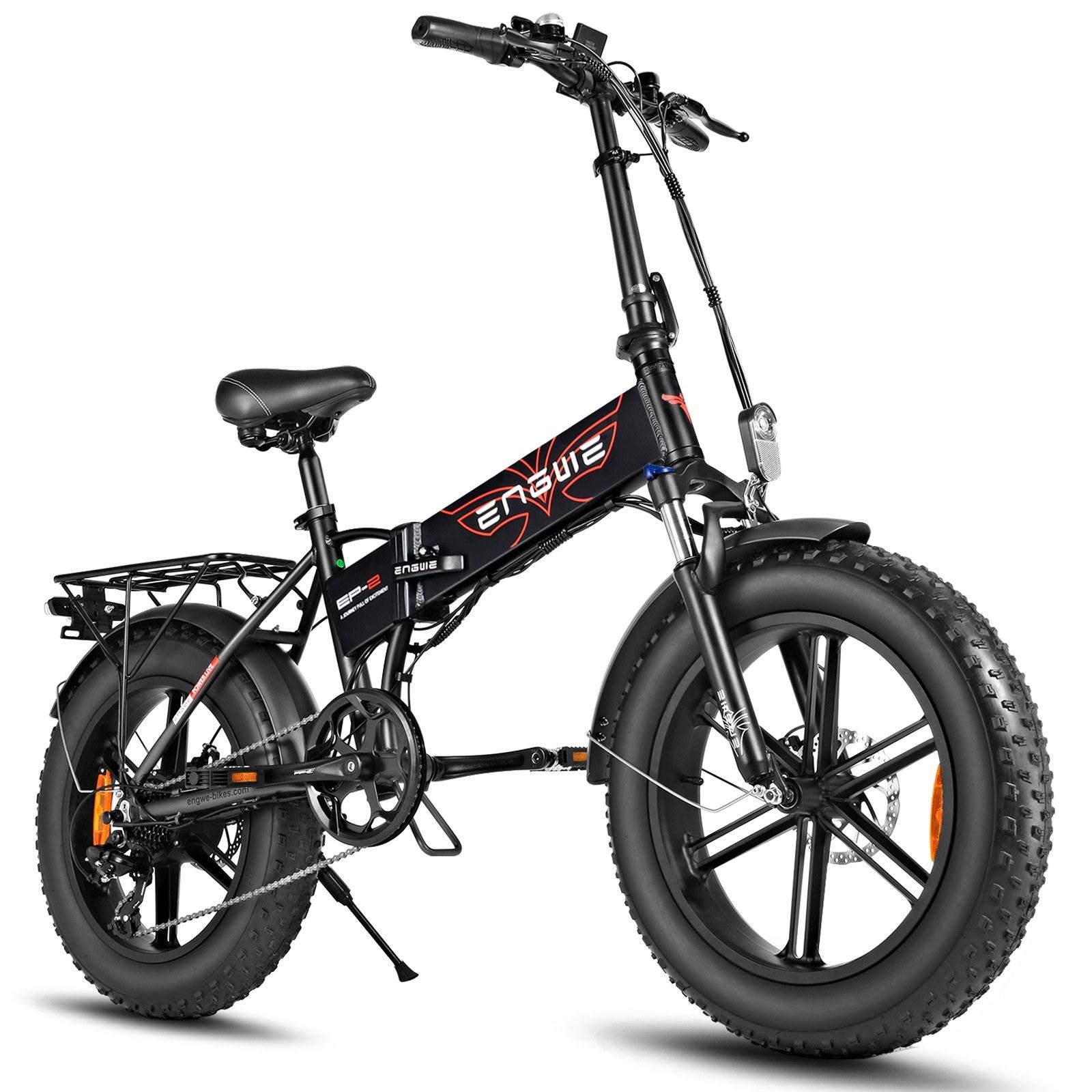 tomtop.com - [US Warehouse] ENGWE EP-2 PRO 20 Inch 750W Folding Electric Snow Bike 12.8AH 60-80km Range, $1069.99 (Inclusive of VAT)