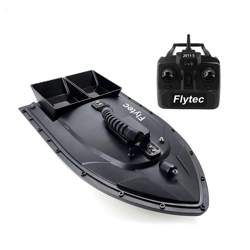Tomtop - [EU Warehouse] 68% OFF Flytec 2011-5 Fish Finder 1.5kg Loading 500m Remote Control Fishing Bait Boat, $114.99 (Inclusive of VAT)