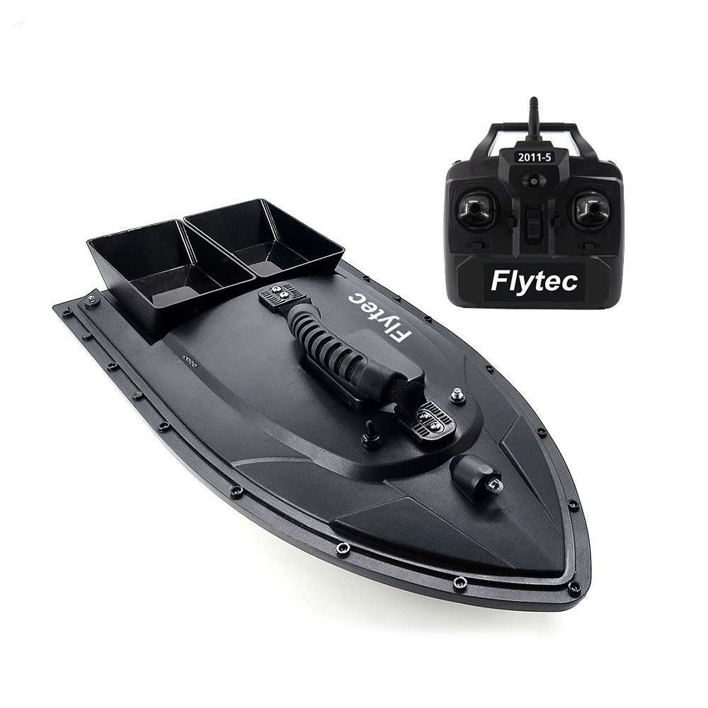 Tomtop - 39% OFF Flytec 2011-5 Fish Finder 1.5kg Loading Remote Control RC Boat, Free Shipping $114.99