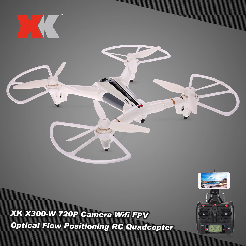 Best XK X300-W 2.4G 6-Axis Gyro RC Quadcopter Sale Online ...