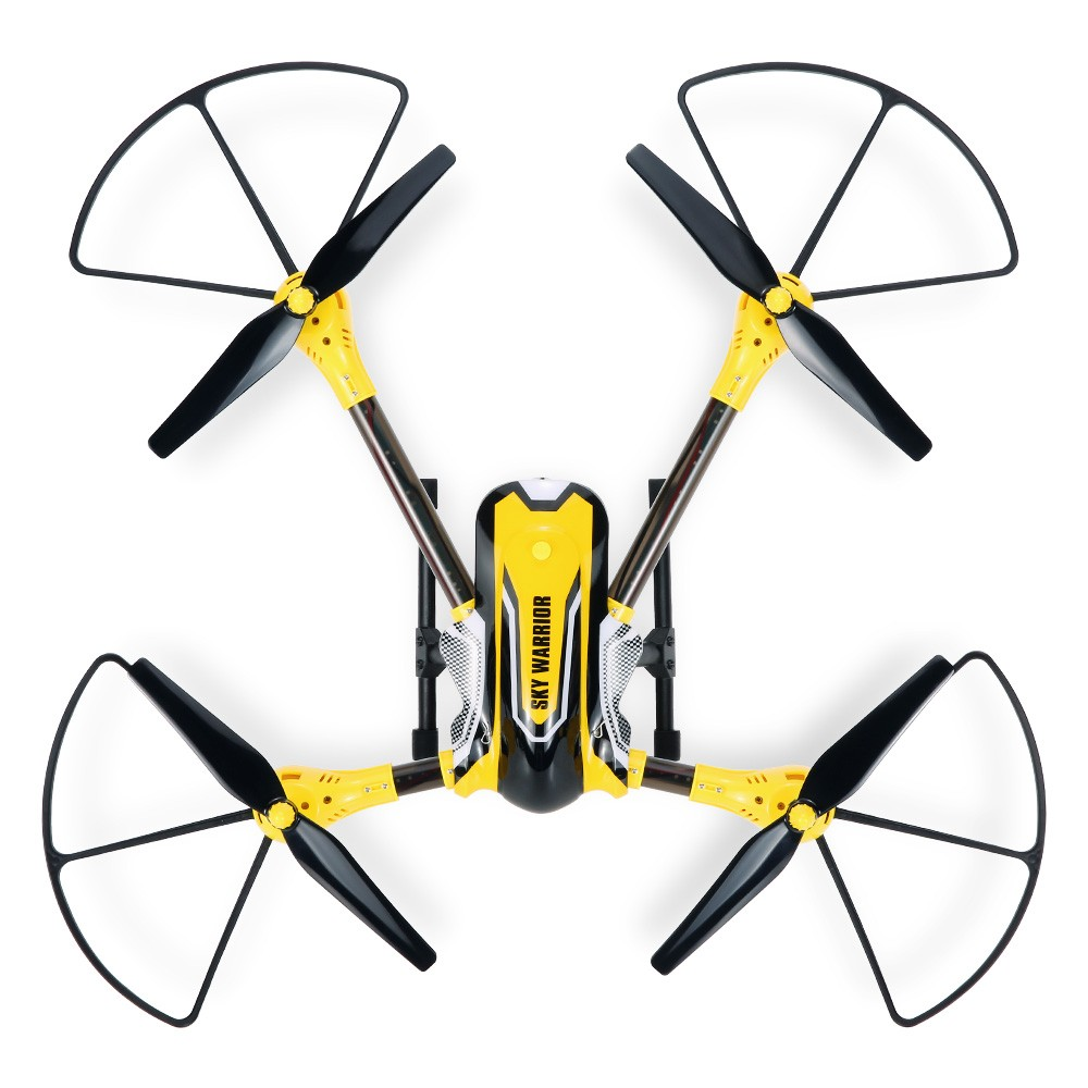 Kai Deng K70C Sky Warrior 20MP HD Camera Drone 24G 4CH 6 Axis RC Quadcopter Selfie RTF Support GoPro Hero 4 SJCAM