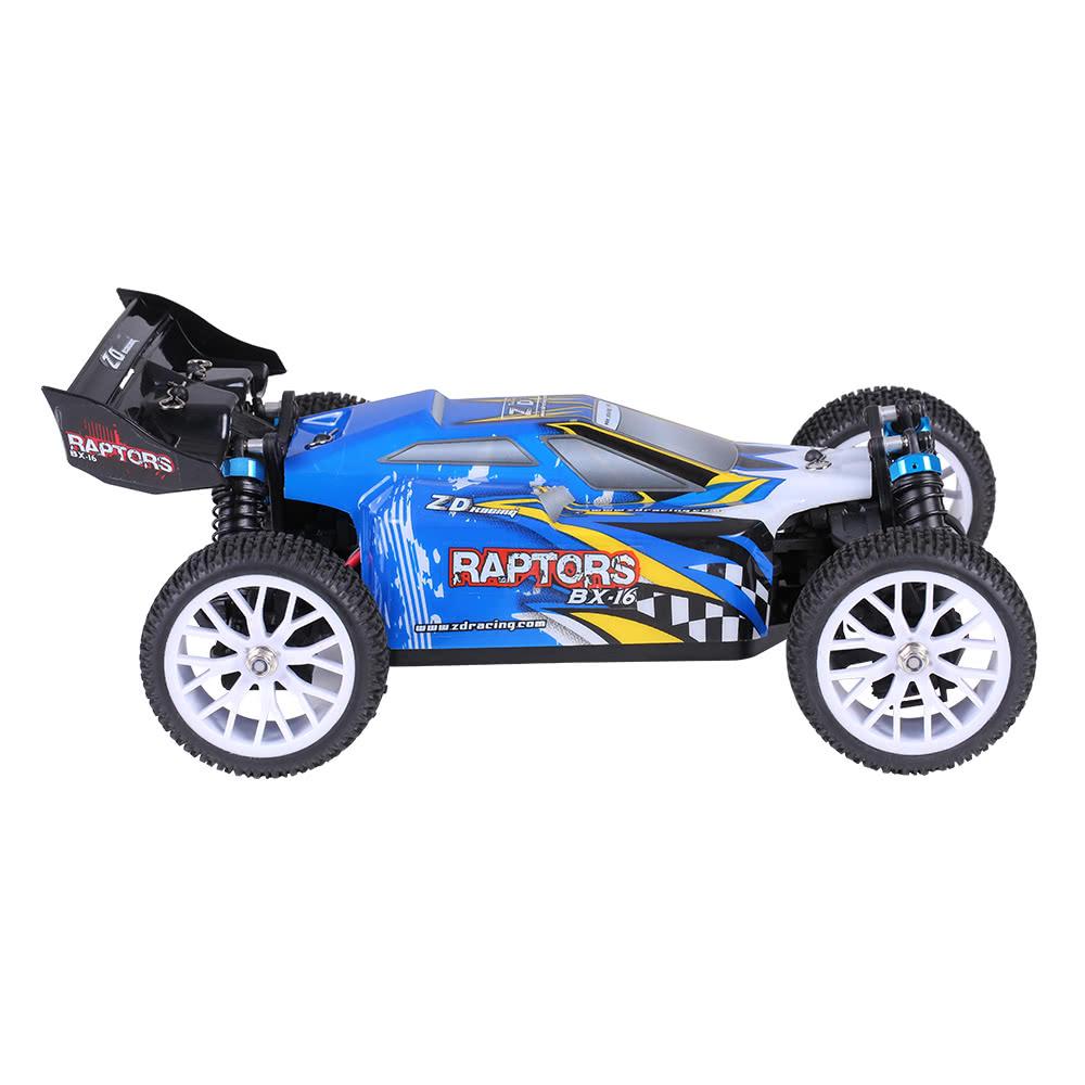 meilleur zd racing raptors bx 16 1 16 4 roues motrices lectrique bleu eu plug vente en ligne. Black Bedroom Furniture Sets. Home Design Ideas