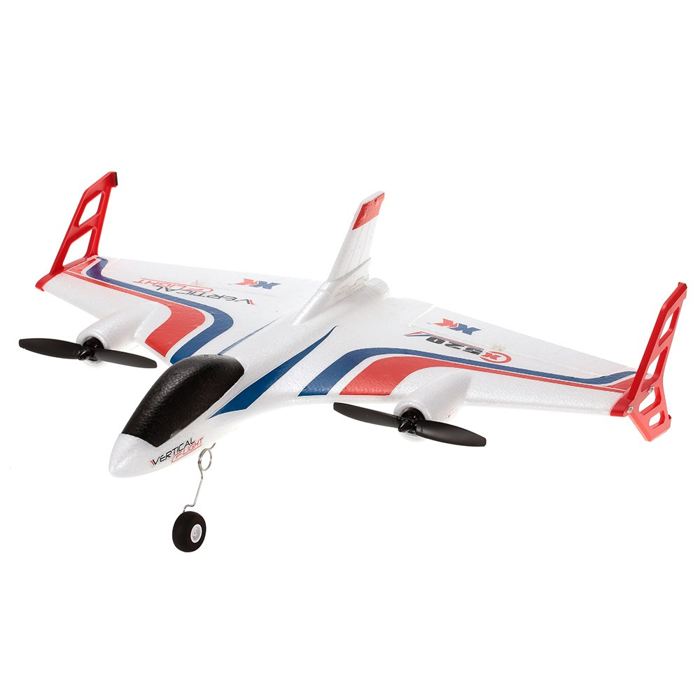 tomtop.com - 37% OFF XK X520 2.4G 6CH 3D/6G Airplane VTOL Vertical Takeoff Land Delta Wing RC Drone with Mode Switch, Free Shipping $158.99