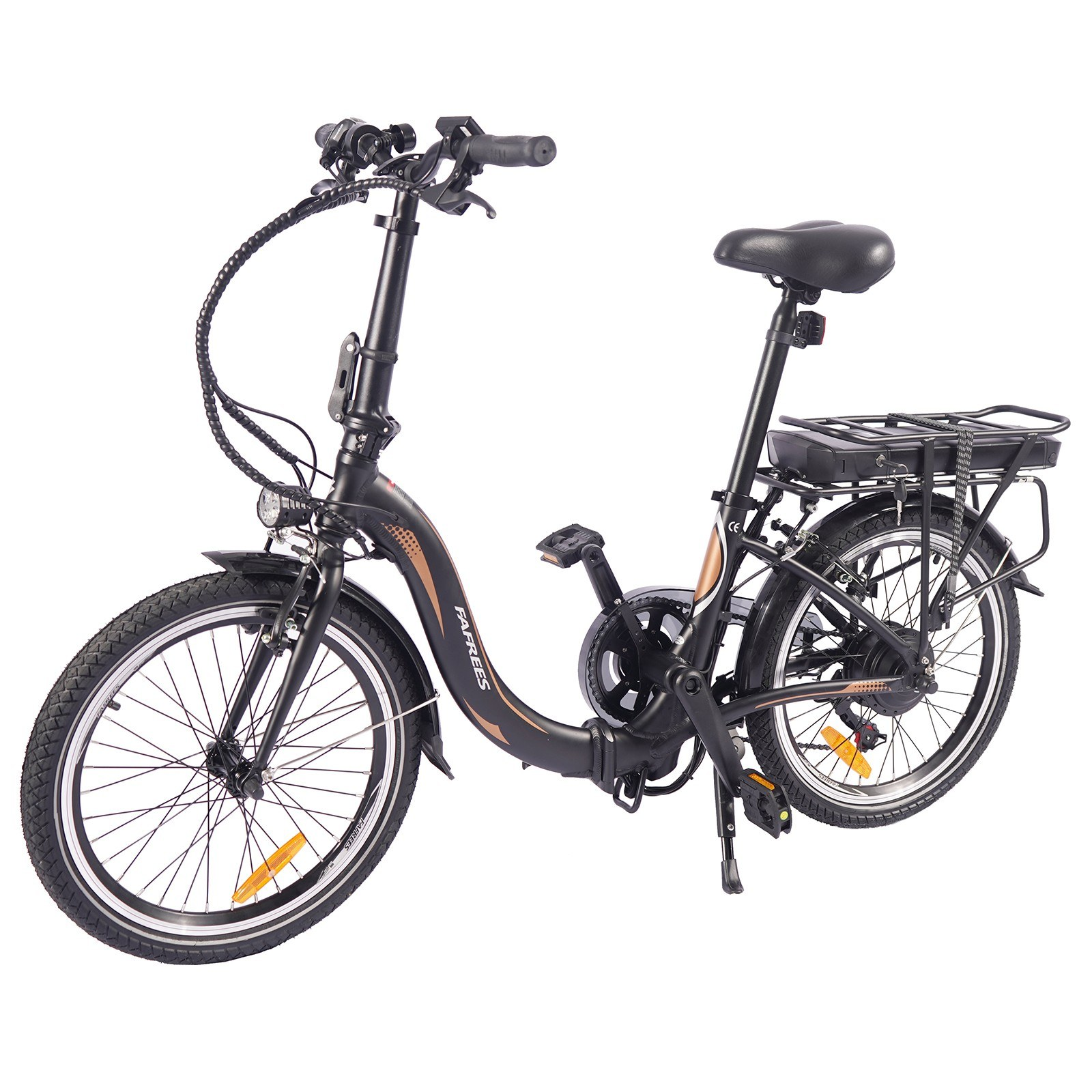 tomtop.com - [EU Warehouse]  Fafrees 20F054 250W 20 Inch Folding Electric Bicycle, $878.81 (Inclusive of VAT)