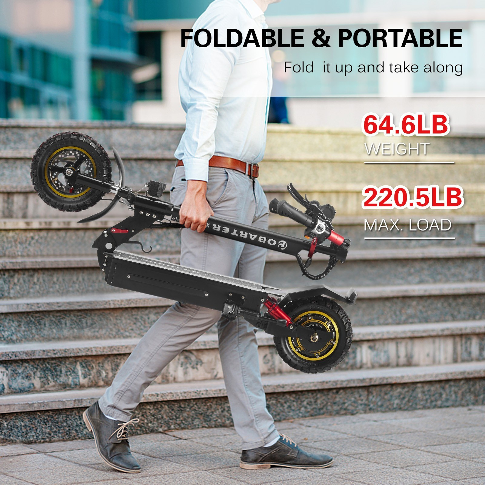 OBARTER X1 Folding Electric Scooter