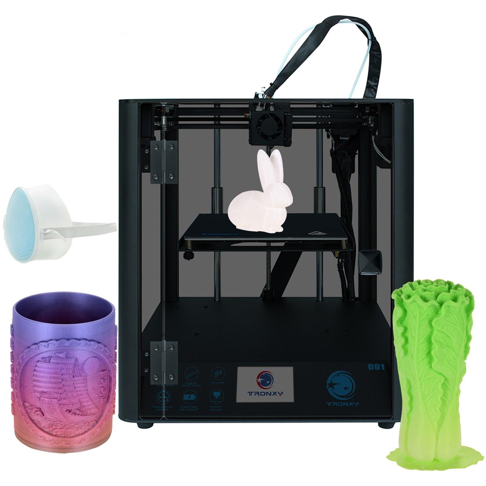 Cafago - 36% OFF Tronxy D01 High Precision 3D Printer,free shipping+$418.59