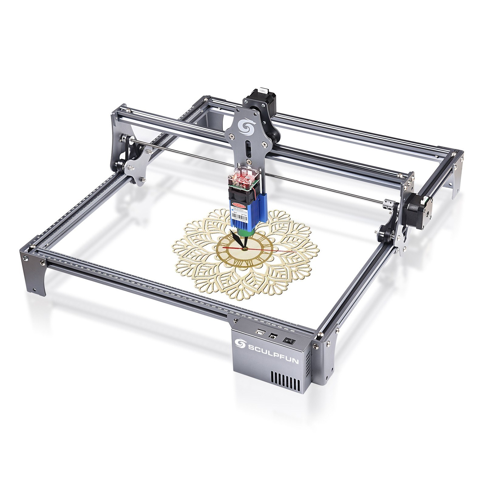 Tomtop - [EU Warehouse] $136 OFF SCULPFUN S6 Pro Spot Compressed Laser Engraver, Free Shipping $292