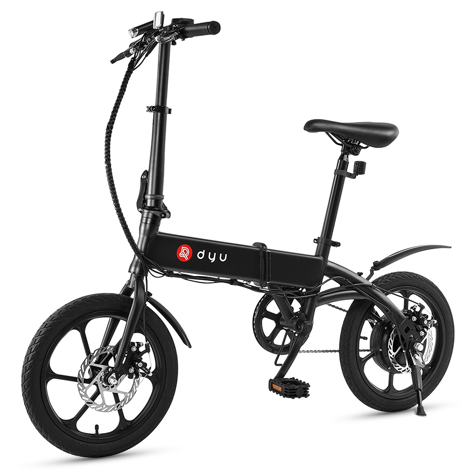 tomtop.com - [EU Warehouse] DYU A1F 16 Inch Folding Electric Bicycle, $535.70 Free Shipping (Inclusive of VAT)