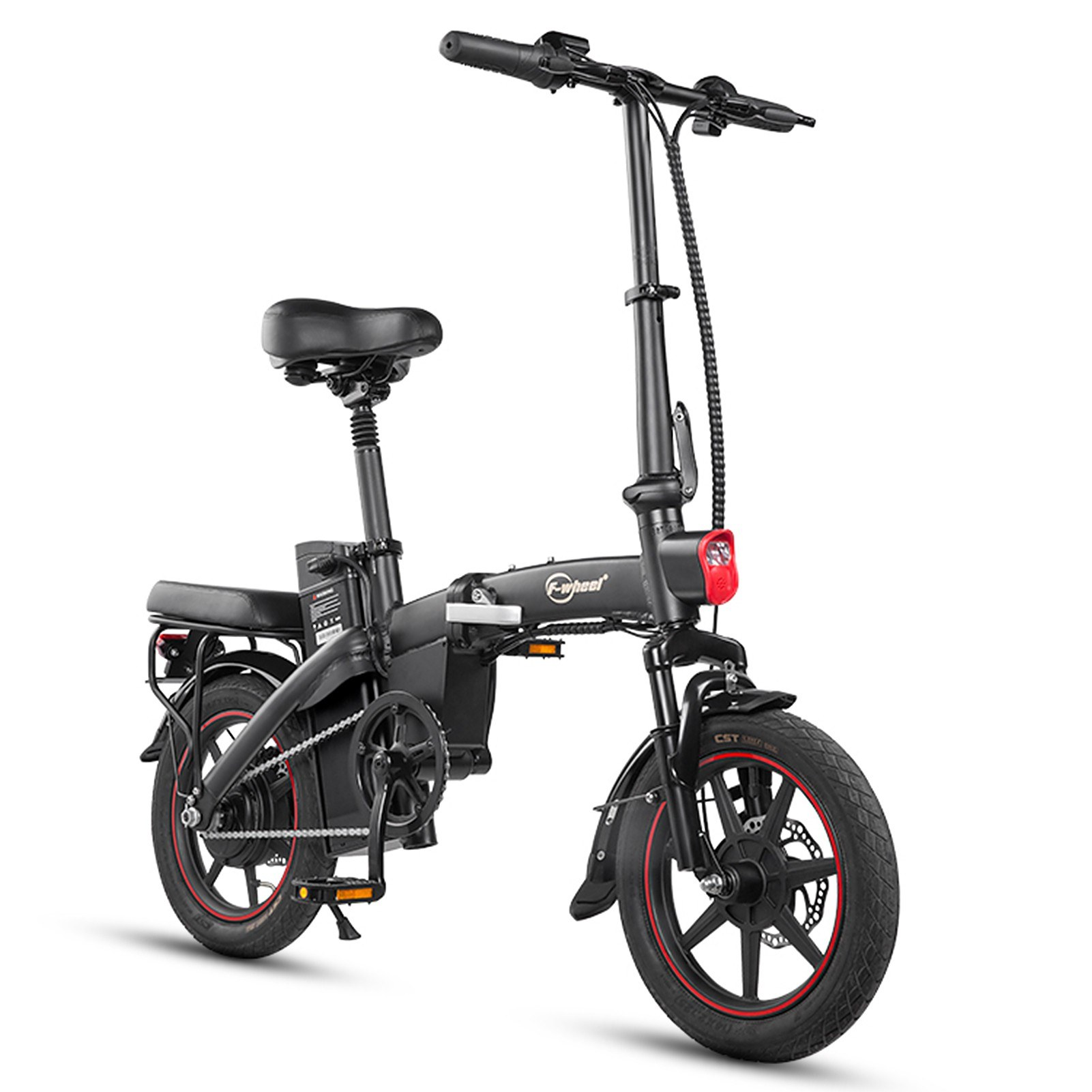 tomtop.com - [EU Warehouse] $194 OFF F-Wheel A5-7.5AH 350W 14 Inch Folding Electric Bicycle, $669.99 (Inclusive of VAT)