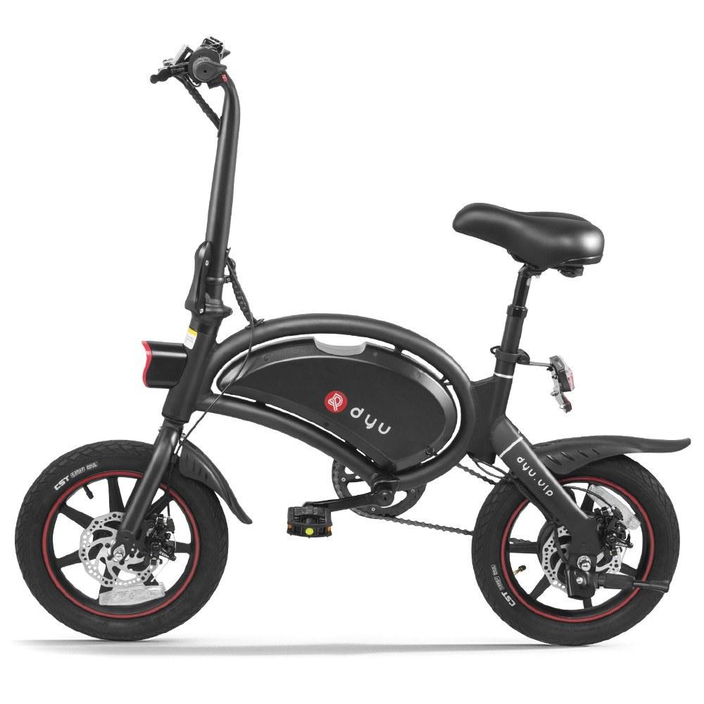 cafago.com - 23% OFF DYU D3+ Electric Bike 65-70km Max Range,free shipping+$602.20