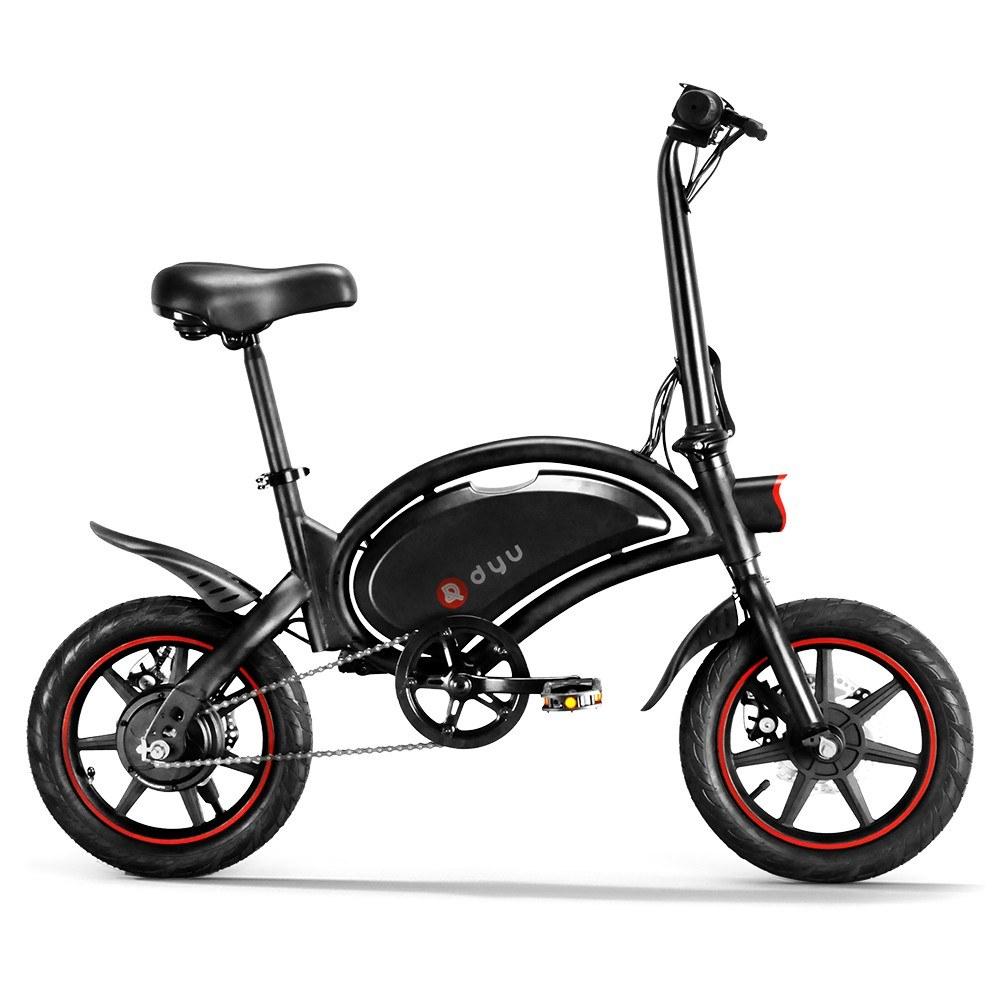 cafago.com - 40% OFF DYF D3F Electric Bike10AH Battery 40 – 60km Max Range,free shipping+$508.29