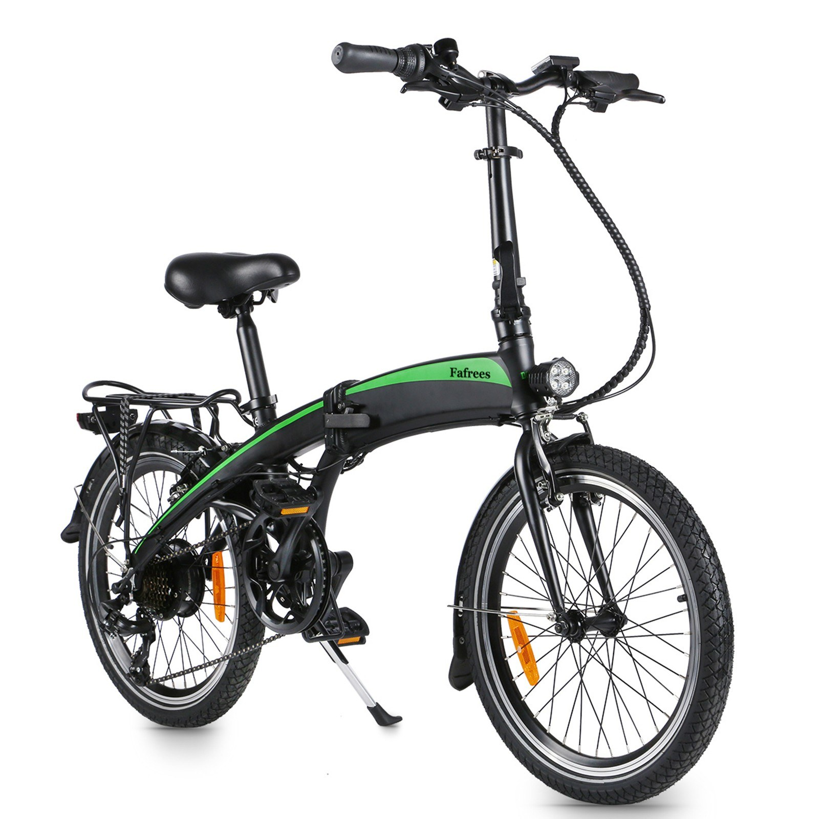Cafago - 50% OFF Fafrees 20F055 20 Inch Folding Electric Bicycle with 7.5AH Battery 33 – 35km Range,free shipping+$749.68