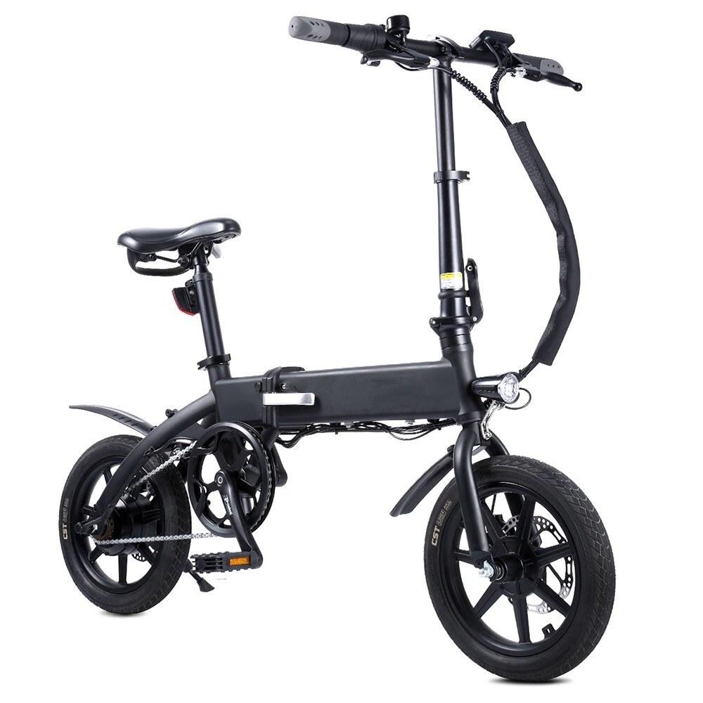 Cafago - 55% OFF KSB14 250W 14 Inch Folding Electric Bike,free shipping+$538.19