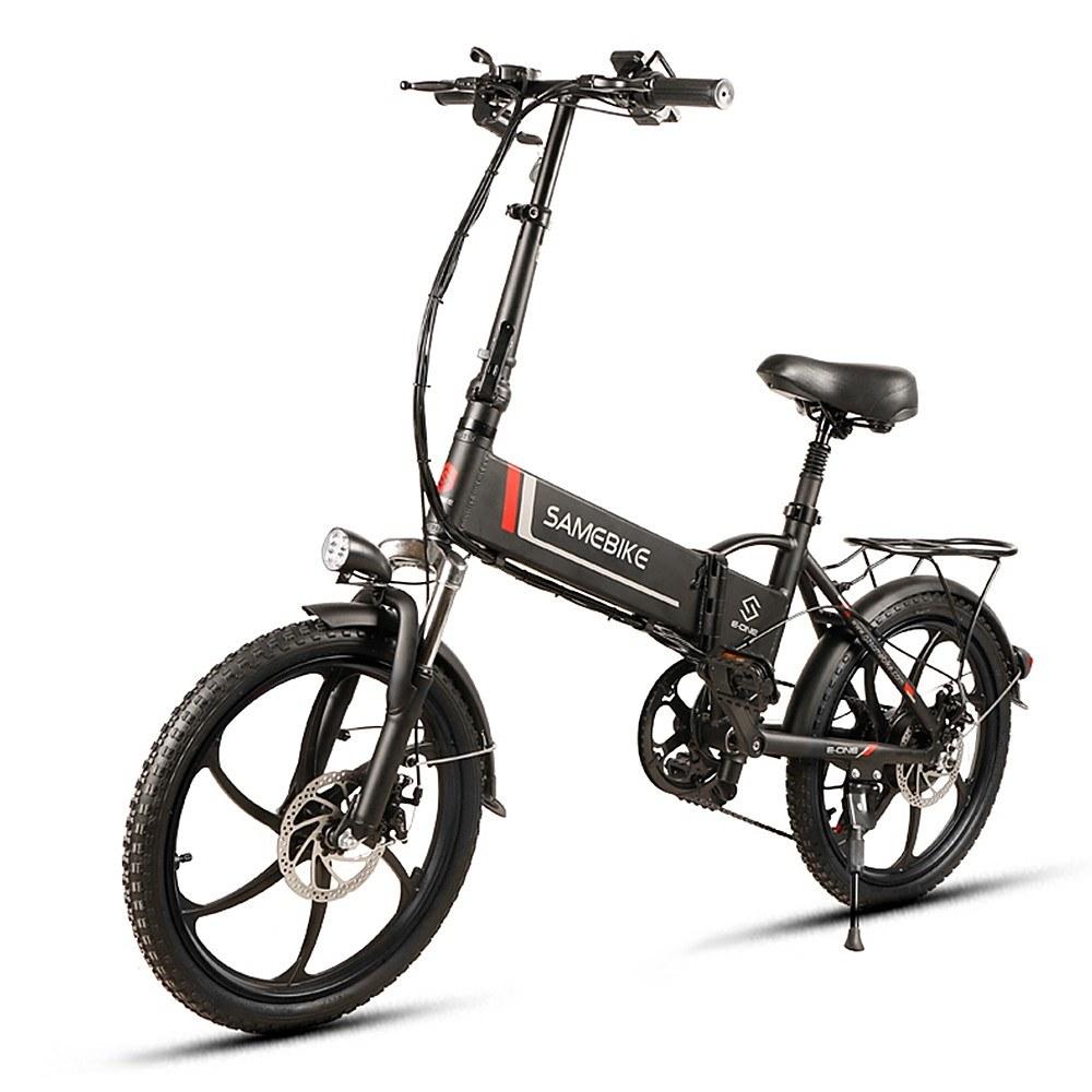Cafago - 23% OFF Samebike 20LVXD30 Electric Bike,free shipping+$801.31